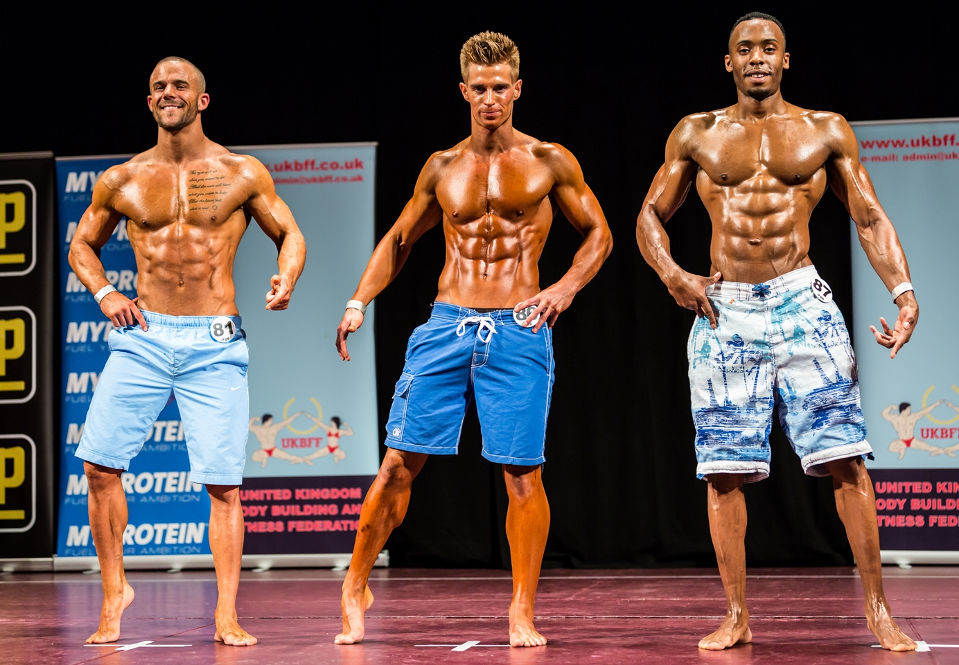 Natural Men S Physique Competition